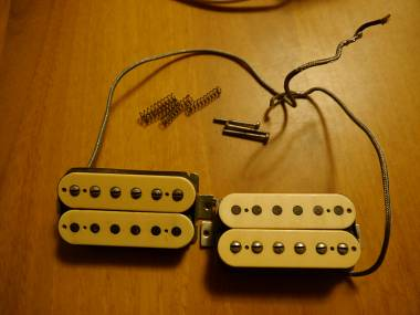 Gibson Tim Shaw PAT. number 1959 PAF reissue double cream humbucker 1983