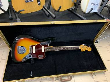 Fender Jaguar sunburst del 1966