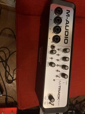 M Audio Quad