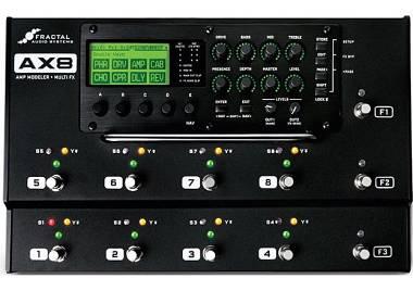 Fractal Audio AX8 + Case rigido