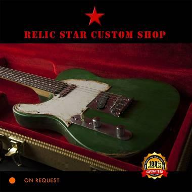 RELIC STAR CUSTOM SHOP t-'50 alnico 5  Left Hand Telecaster
