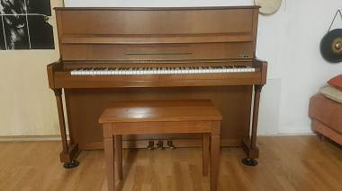 Clement pianoforte verticale meccanica Renner