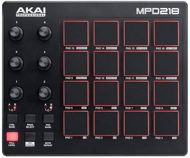 AKAI MPD 218 MIDI PAD CONTROLLER