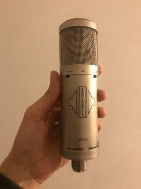 Microfono Condensatore Sontronics SCT Silver