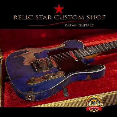 RELIC STAR CUSTOM SHOP t-'50 Alnico 5 light weight Telecaster