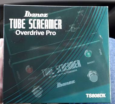 Ibanez Tube screamer Ts 808 dx