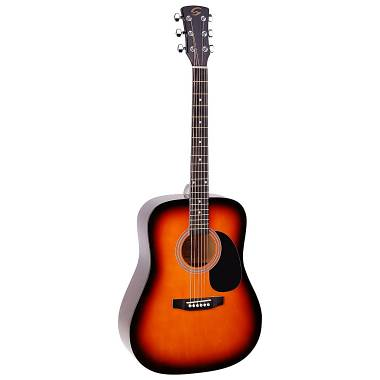 Soundsation YOSEMITE-DN-SB Chitarra acustica Dreadnought