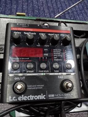 TC Electronic Nova delay  bellissimo pedale delay