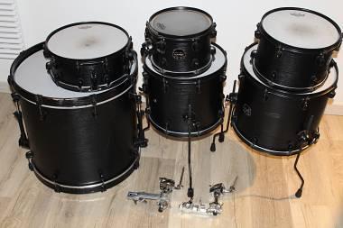 Mapex Meridian Black Raven Limited Edition 6 pezzi