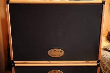 """1di 2 Cassa 2x12 """" da Falegname basata su progetto Jensen Cabinet chitarra"""