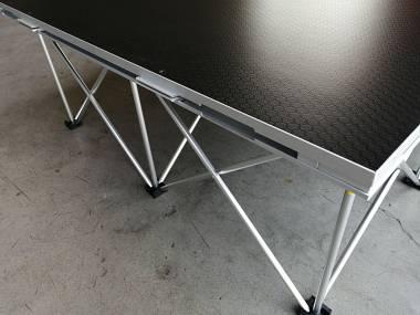 Palco riser modello ECO  completo riser e poanale 200x100 H40