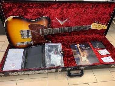 Fender Telecaster Custom Shop '61 Relic Sunburst del 2017 ECCELLENTI CONDIZIONI