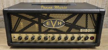 EVH 5150 III 50W EL34 HEAD BLACK TESTATA VALVOLARE 50 WATT + FOOTSWITCH