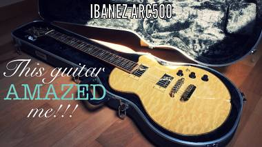 RIBASSO! IBANEZ ARC500 (Les Paul ma timbro - scuro Stratocaster Tele) - VIDEO!