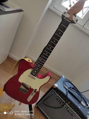 Fender Telecaster Classic '60 Candy Apple Red (Anno 2000 - Tasti Nuovi Jumbo)
