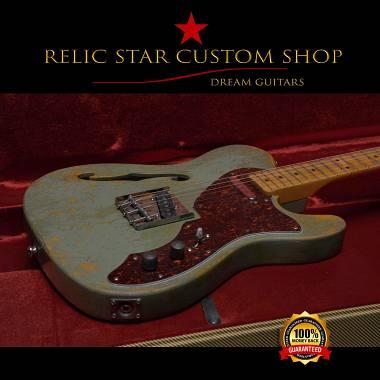 RELIC STAR CUSTOM SHOP  alnico 5 Thinline Telecaster DISPONIBILE