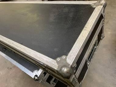 consolle dj per Technics 1200/1210 e mixer rack standard