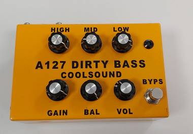 Vendo Coolsound A127 Dirty Bass Overdrive Basso Valvolare