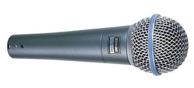 Shure beta 58 Microfono no sennheiser no sm 57 58