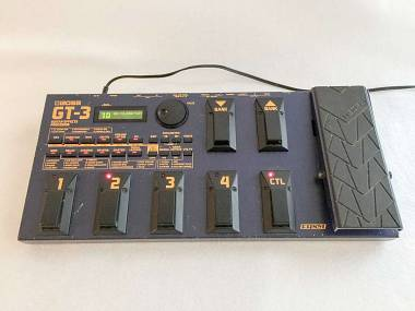 Boss GT-3-Guitar-Multi-Effects-Pedal