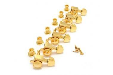 Grover Roto-Grip Locking Rotomatics 6L 505G6 GOLD
