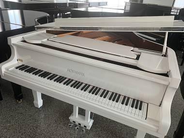 "PIANOFORTE A CODA BIANCO 1/4 CODA ""HOFFMAYER"""