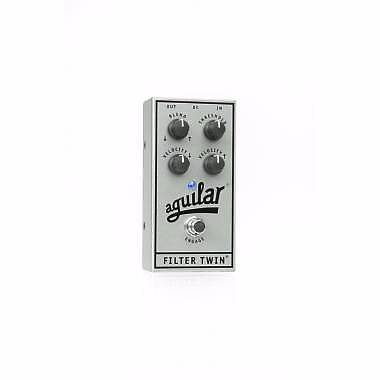 AGUILAR FILTER TWIN SILVER ANNIVERSARY EDITION -PEDALE