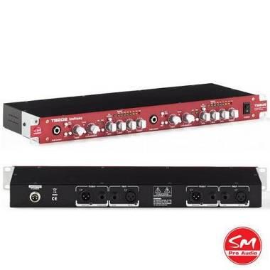 SM Pro Audio TB 202  Preamp EQ Compressore Valvolare Stereo, Made in Usa