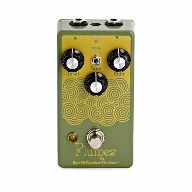 EARTHQUAKER DEVICES  PLUMES EFFETTO OVERDRIVE A PEDALE PER CHITARRA