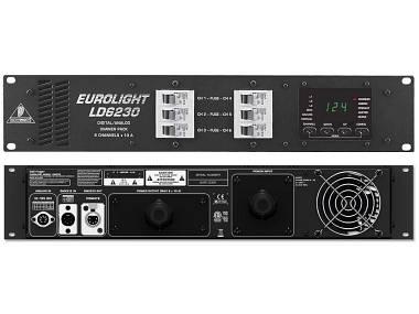 Dimmer luci Behringer 6Ch Dmx Eurolight ld6230