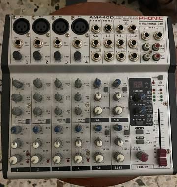 Vendo Mixer Phonic AM 440D