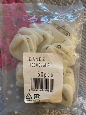 IBANEZ 1000SV-WHR STEVE VAI - GRIP GOMMA BIANCO 50 PEZZI