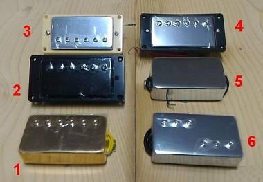 HUMBUCKER PAF / MINI HB STYLE SM1 / P90 / LIPSTICK