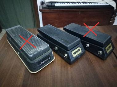 Pedale Volume mono e stereo