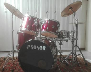 VENDO BATTERIA ACUSTICA Sonor 507