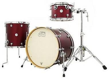 DW Design Limited Edition 22/13/16 Crimson Satin Metalic
