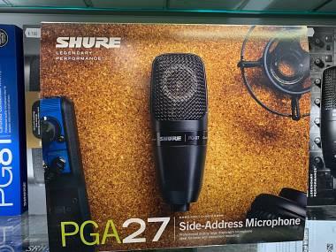 Shure PGA 27 Microfono a condensatore DIAFRAMMA LARGO RIPRESA LATERALE cardioide