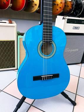 Salvador Cortez Salvador CG-144 Chitarra classica 4/4 Colore Blu