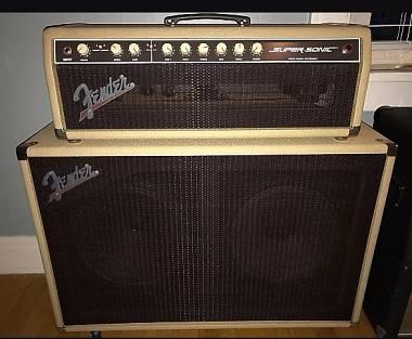 ampli valvolare Fender Supersonic 60W + 2x12 Celestion V30 [Vendo/Permuto]
