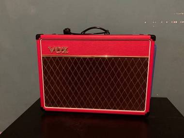 Vox ac 15 red limited edition