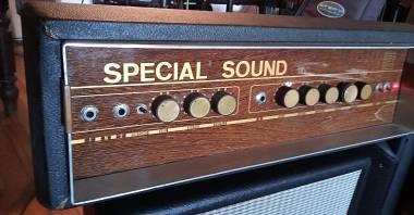 CEI SPECIAL SOUND testata valvolare vintage - chitarra organo basso - 2 canali