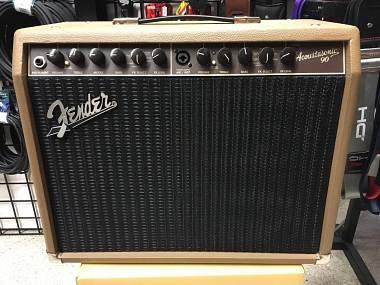 Fender Acoustasonic 90 - AMPLIFICATORE PER CHITARRA ACUSTICA E VOCE 90W