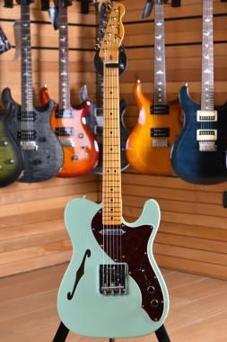 Fender American Original '60s Telecaster Thinline Maple Neck Surf Green