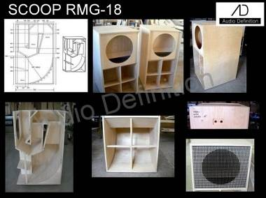 """AUDIO DEFINITION P.A. """"SCOOP RMG 18"""""""
