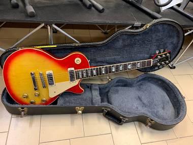Gibson Les Paul Deluxe Cherry Sunburst del 1977 STUPENDA