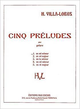 Villa Lobos Preludio n. 1 in Mi minore (per chitarra)