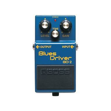 BOSS BD-2 BLUES DRIVER OVERDRIVE - EFFETTO OVERDRIVE A PEDALE PER CHITARRA