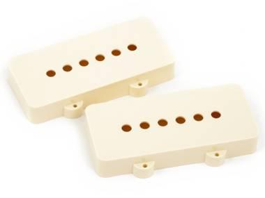 Fender Pickup Covers Jazzmaster Aged White (2)