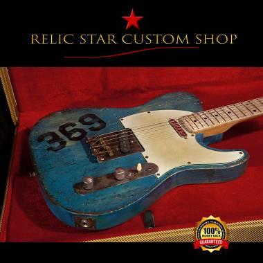 RELIC STAR CUSTOM SHOP t-'50 alnico 5 graphic Telecaster