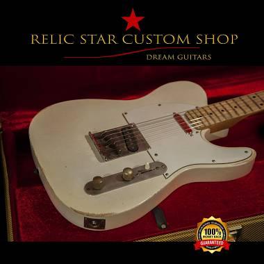 RELIC STAR CUSTOM SHOP t-'50 alnico 5 light weight Telecaster